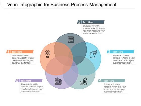Venn Infographic For Business Process Management Ppt PowerPoint Presentation Infographics Sample