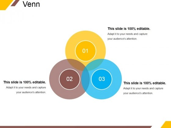 Venn Ppt PowerPoint Presentation Infographic Template Backgrounds