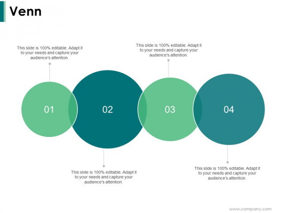 Venn With Four Circle Ppt PowerPoint Presentation Outline Tips
