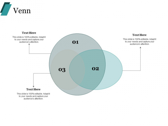 Venn With Three Circles Process Ppt PowerPoint Presentation Gallery Example