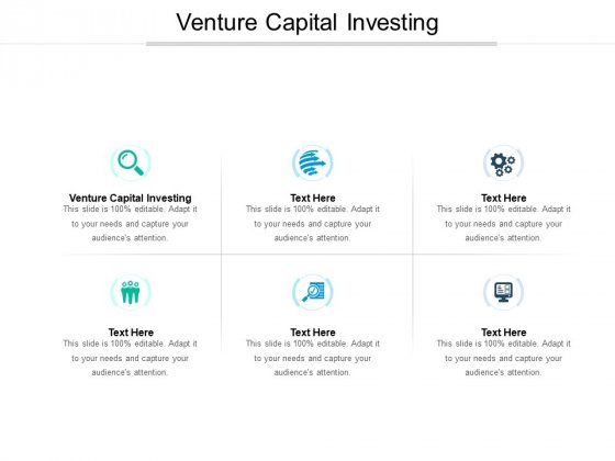 Venture Capital Investing Ppt PowerPoint Presentation Inspiration Design Inspiration Cpb Pdf