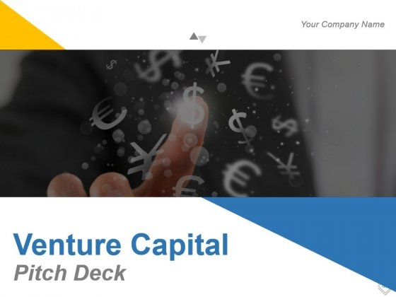 Venture Capital Pitch Deck Powerpoint Slide Images