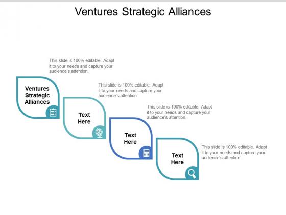 Ventures Strategic Alliances Ppt PowerPoint Presentation Portfolio Graphics Tutorials