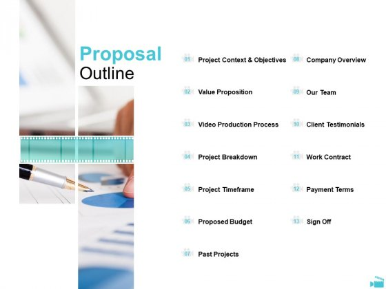 Video Development And Administration Proposal Outline Pictures PDF