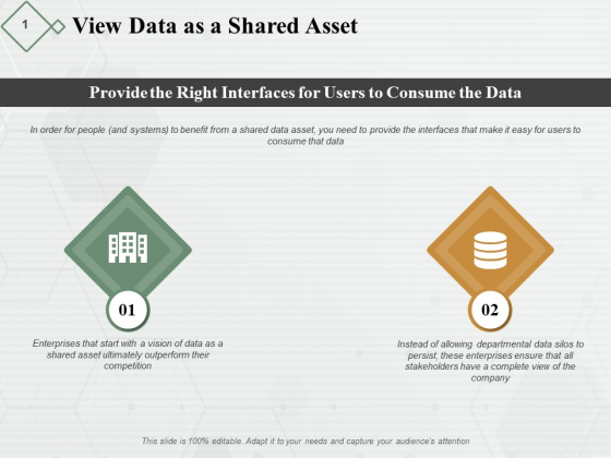 View Data As A Shared Asset Ppt PowerPoint Presentation Model Portfolio