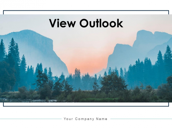 View_Outlook_Pyramid_Ppt_PowerPoint_Presentation_Complete_Deck_Slide_1