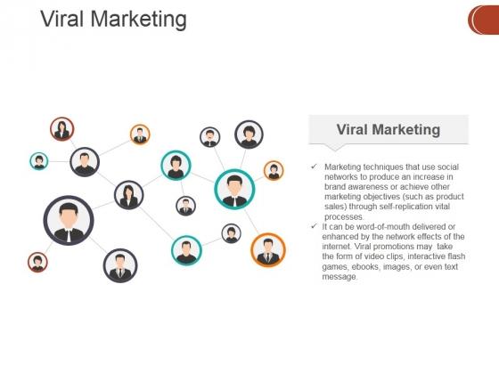 viral marketing ppt powerpoint presentation model clipart