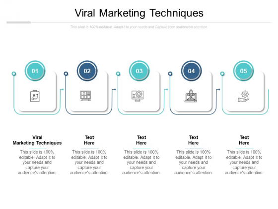 Viral Marketing Techniques Ppt PowerPoint Presentation File Background Cpb