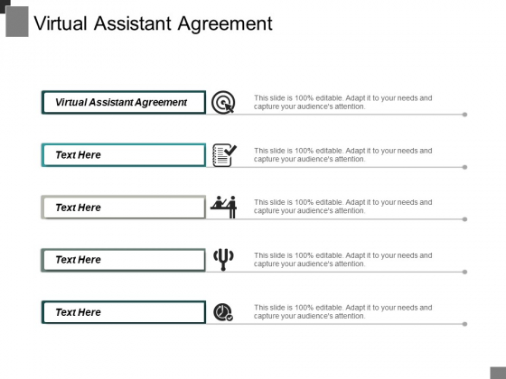 Virtual Assistant Agreement Ppt PowerPoint Presentation Layouts Diagrams Cpb