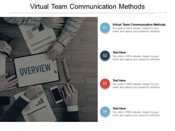 Virtual Team Communication Methods Ppt PowerPoint Presentation Gallery Portrait