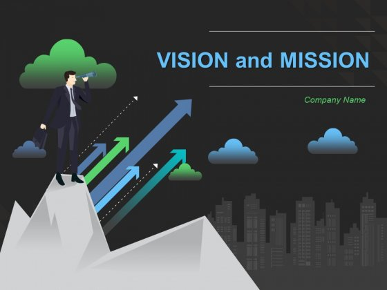 Vision And Mission Ppt PowerPoint Presentation Complete Deck With Slides