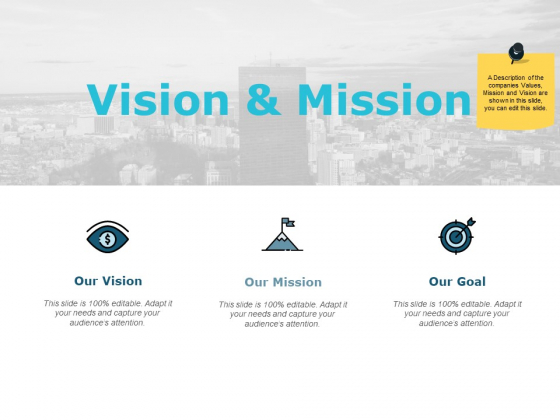 Vision And Mission Ppt PowerPoint Presentation Outline Format