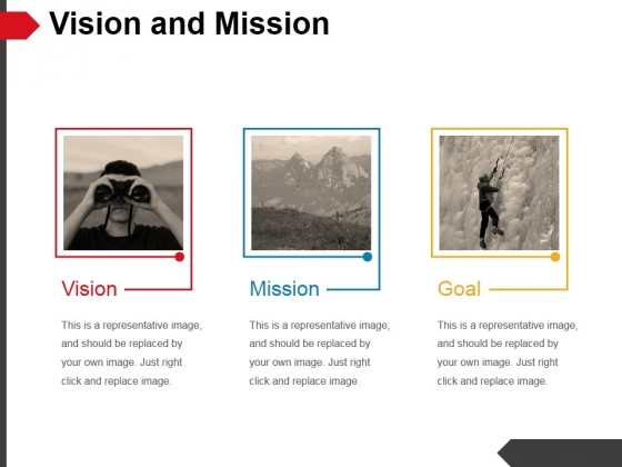 Vision And Mission Ppt PowerPoint Presentation Pictures Elements