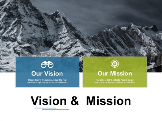 Vision And Mission Ppt PowerPoint Presentation Professional Elements