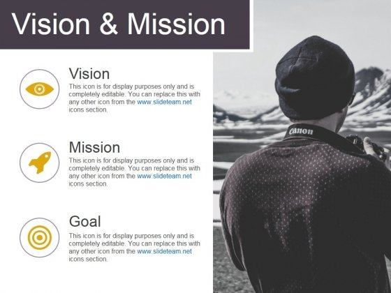 Vision And Mission Template 1 Ppt PowerPoint Presentation Summary Ideas