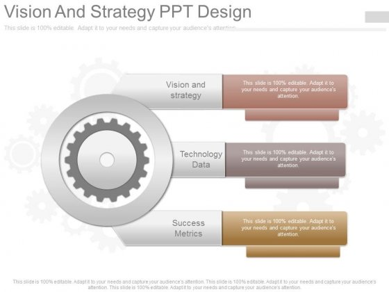 Vision And Strategy Ppt Design