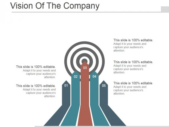 Vision Of The Company Ppt PowerPoint Presentation Design Templates
