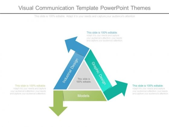 Visual Communication Template Powerpoint Themes