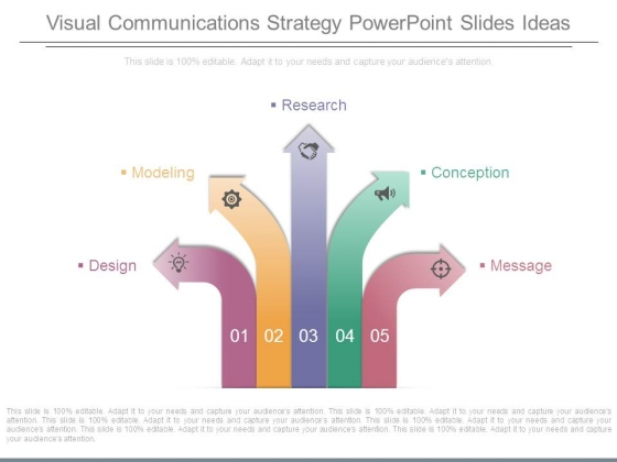 Visual Communications Strategy Powerpoint Slides Ideas