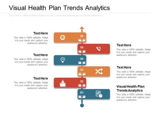 Visual Health Plan Trends Analytics Ppt PowerPoint Presentation Inspiration Slideshow Cpb Pdf