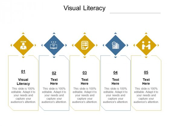 Visual Literacy Ppt PowerPoint Presentation Summary Slide Download Cpb