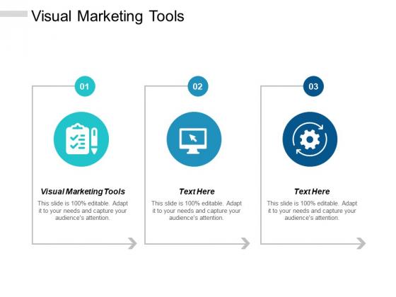 Visual Marketing Tools Ppt PowerPoint Presentation Show Graphics Tutorials Cpb