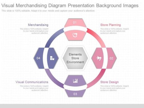 Visual Merchandising Diagram Presentation Background Images