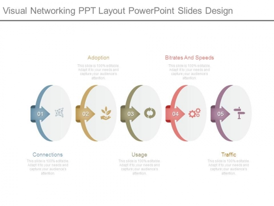 Visual Networking Ppt Layout Powerpoint Slides Design