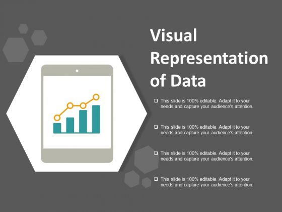 Visual Representation Of Data Ppt Powerpoint Presentation Model Images