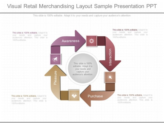Visual Retail Merchandising Layout Sample Presentation Ppt
