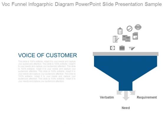 Voc Funnel Infogarphic Diagram Powerpoint Slide Presentation Sample