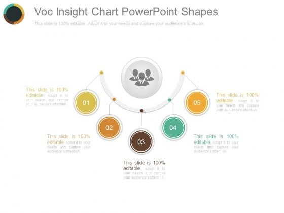 Voc Insight Chart Powerpoint Shapes