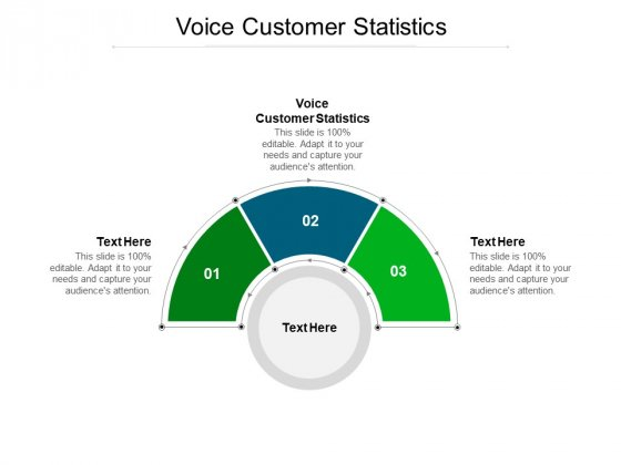 Voice Customer Statistics Ppt PowerPoint Presentation Design Templates Cpb Pdf