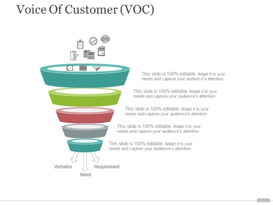 voice of customer voc template 2 ppt powerpoint presentation layouts outline
