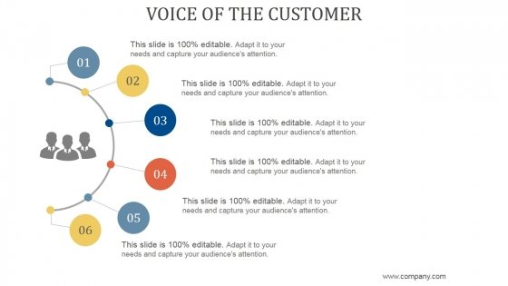 Voice Of The Customer Ppt PowerPoint Presentation Show