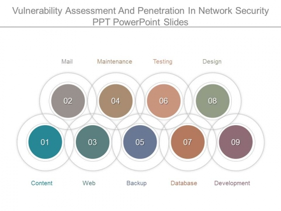 Vulnerability Assessment And Penetration In Network Security Ppt Powerpoint Slides