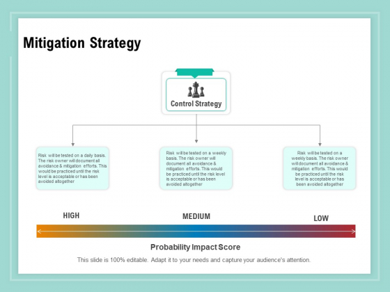 Vulnerability Assessment Methodology Mitigation Strategy Ppt Infographic Template Examples PDF