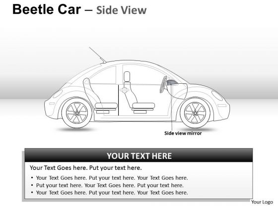 Vacation Travel Red Beetle Car PowerPoint Slides And Ppt Diagram Templates