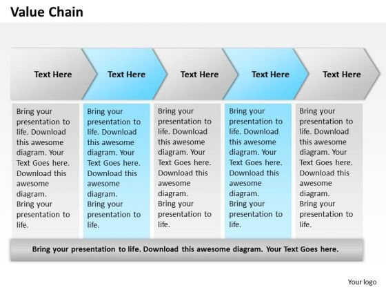 Value Chain PowerPoint Presentation Template