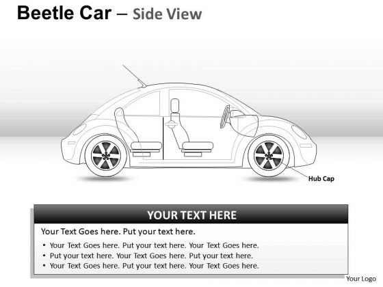 Vehicle Red Beetle Car PowerPoint Slides And Ppt Diagram Templates
