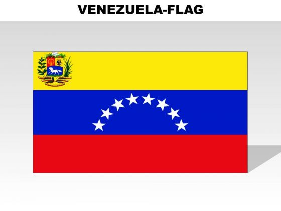 Venezuela Country PowerPoint Flags