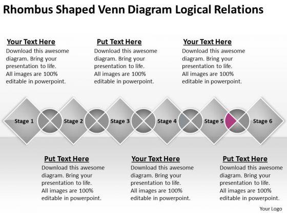 venn diagram logical relations ppt 15 business plan executive