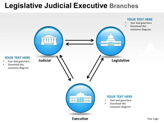 Verdict Legislative Judicial Executive Branches PowerPoint Slides And Ppt Diagram Templates