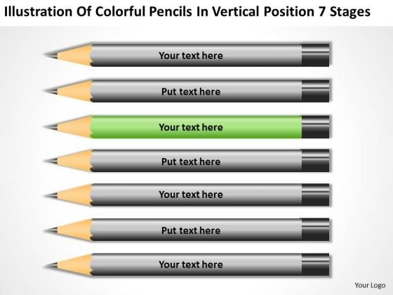 Vertical Position 7 Stages Ppt Small Business Plan Templates PowerPoint