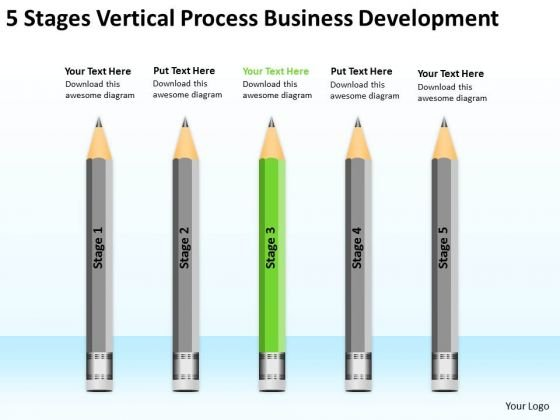 Vertical Process Business Development Ppt 3 Plan For Restaurant ...