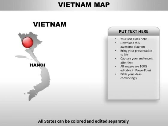 Vietnam country powerpoint maps powerpoint templates toneelgroepblik Images