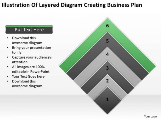 Vision Business Process Diagram Plan Ppt 6 PowerPoint Templates Backgrounds For Slides
