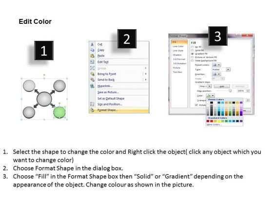 visual_representation_of_four_diverging_factors_circular_motion_diagram_powerpoint_templates_3