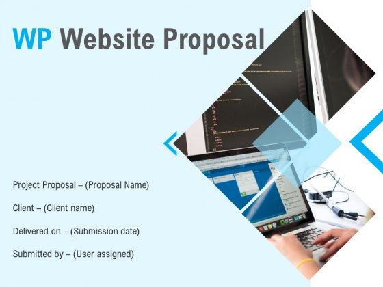 WP Website Proposal Ppt PowerPoint Presentation Complete Deck With Slides