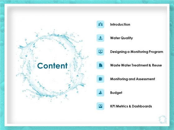 WQM System Content Ppt PowerPoint Presentation Styles Samples PDF
